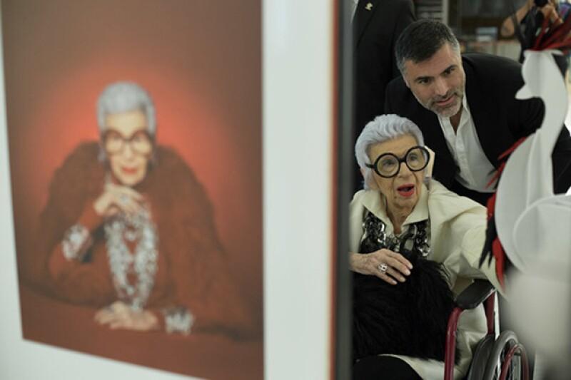 En la apertura de su colaboración con TANE. Con Nino Bautí
