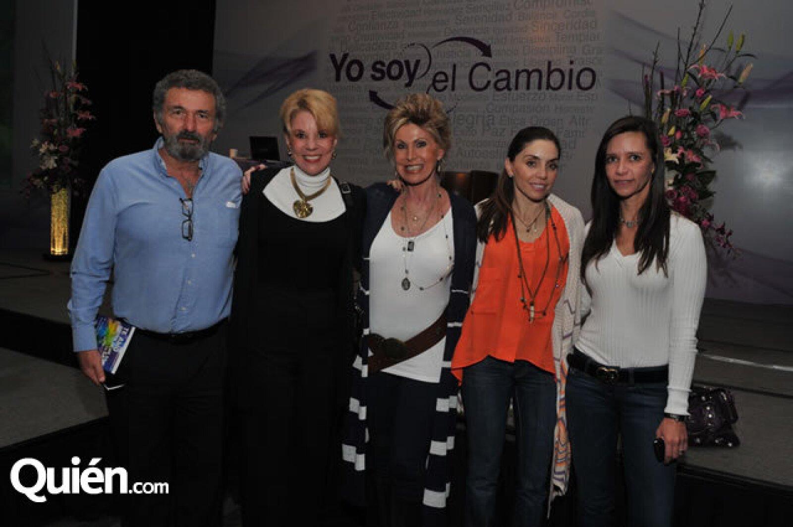 José Pérez-Grovas, Lucy Aspra, Susana Mondragón, Alejandra García Díaz y Renata Herrera