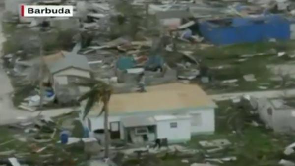 El huracán Irma devasta Barbuda