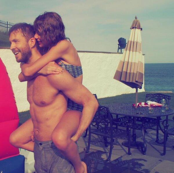 Otra de las parejas que empezó su relación en 2015 fue Taylor y Calvin. Desde que hicieron público su romance, las fotos en Instagram no han parado.