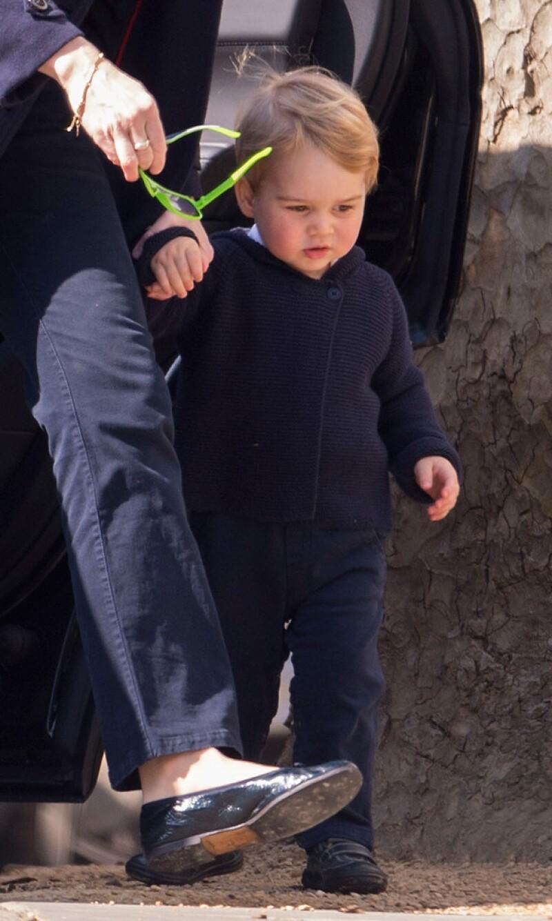 George cumplirá en julio próximo dos años de edad.