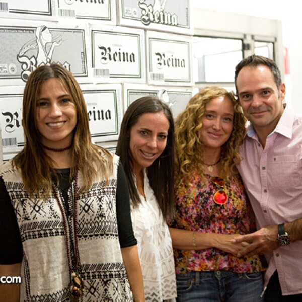 Dinorah Climent, Sylvia Rivera Jauregui, Edith Stephan y Waldemar Franco