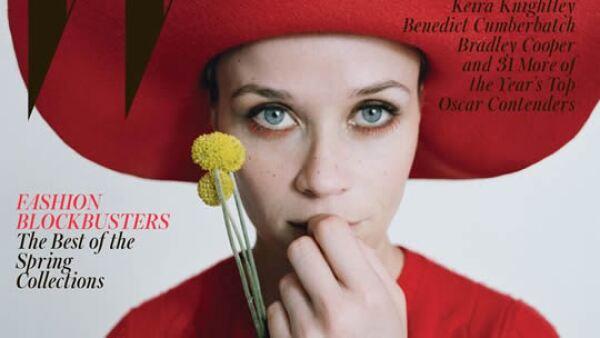 Reese Witherspoon posa para la portada de W Magazine.