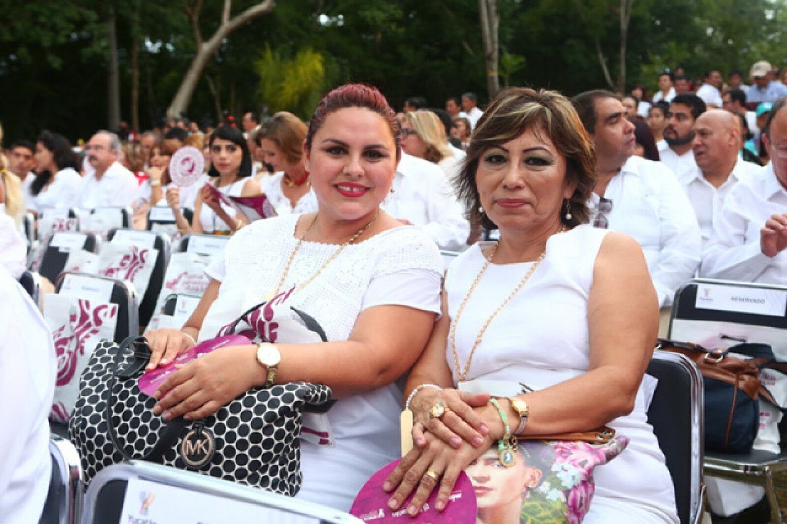 Lourdes Caballero y Dany Romero