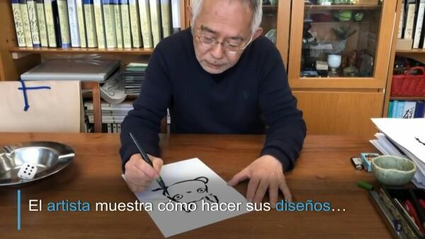 Aprendiendo a dibujar a Totoro en cuarentena