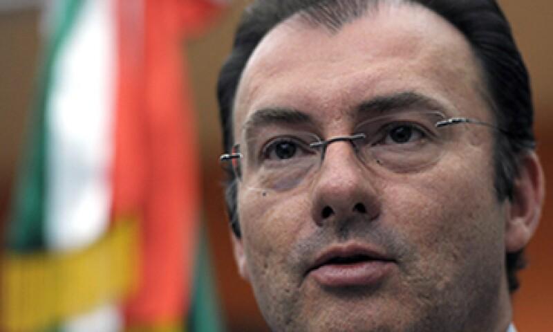 El debate también se dará en la opinión pública, dijo Videgaray, quien no se refirió a si se realizarán en televisión. (Foto: Notimex)
