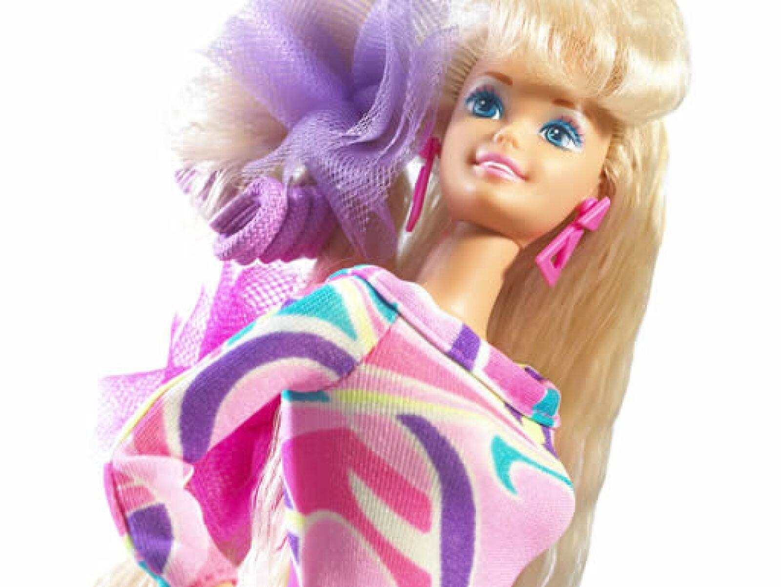 La muñeca más vendida fue la Barbie Totally Hair, que salió en 1992, con la característica que el pelo le llegaba hasta los pies.