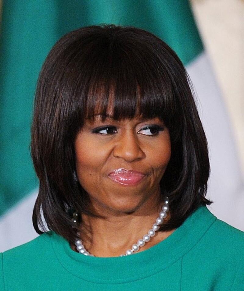 """La primera dama de Estados Unidos confesó en el programa """"Entertainment Tonight"""" que le cuesta trabajo cuidarlo diario."""
