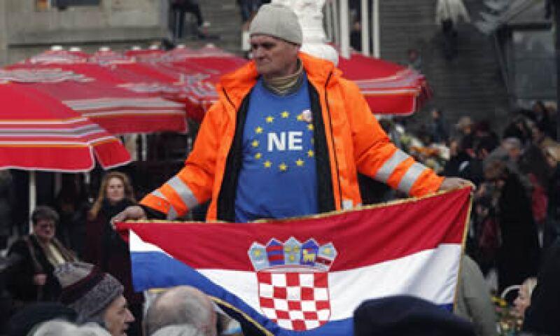 Croacia tiene 4.3 millones de habitantes y suma menos del 1% de la población total de la UE. (Foto: Reuters)