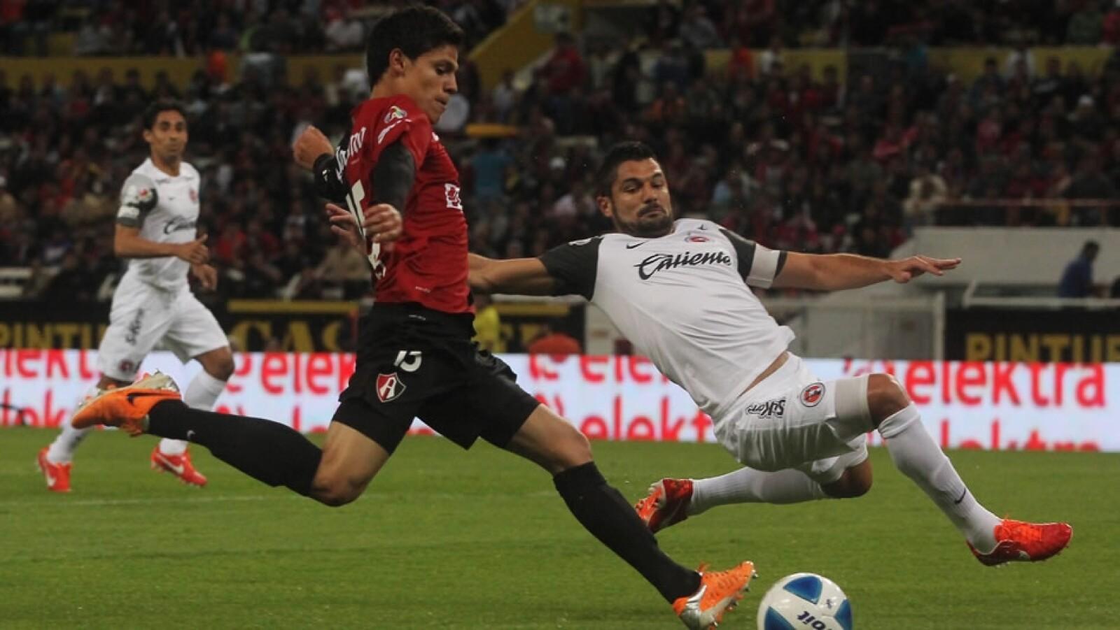 Atlas vs Tijuana los 'Rojinegros' desperdiciaron una oportunidad de gol