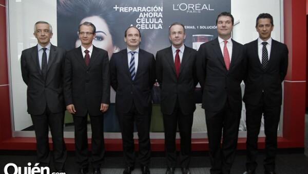 Alberto Navarro, Alexandre Popoff, Jean-Philippe Blanpain, Luca Burei, Jorge Martínez