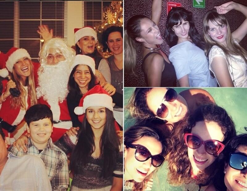 Vanessa sabe la importancia que tiene la amistad, en su Instagram la podemos ver disfrutar al máximo a sus amigos.