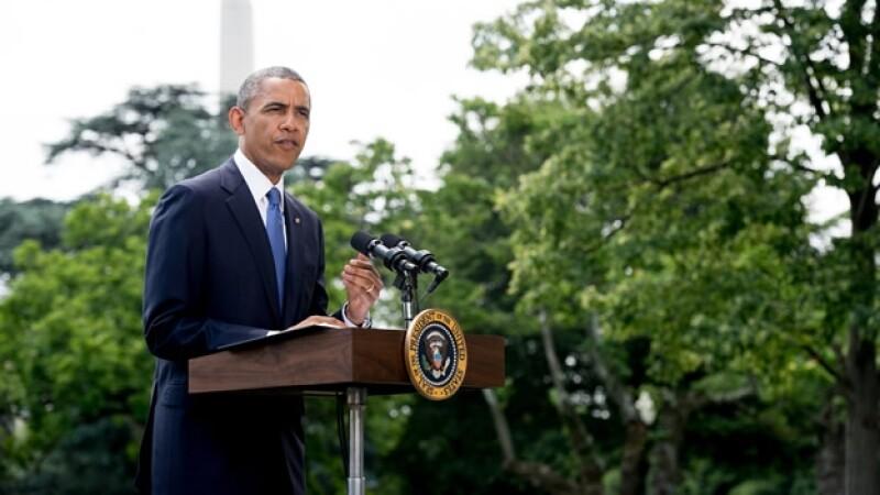 Barack Obama anuncio Iraq