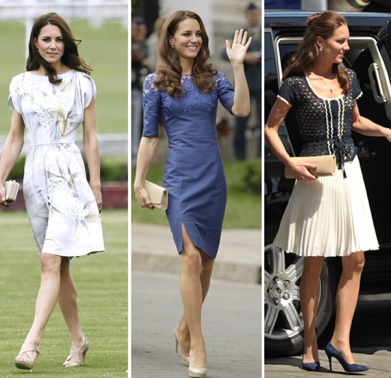 Los looks de Kate se convierten en éxitos rotundos.