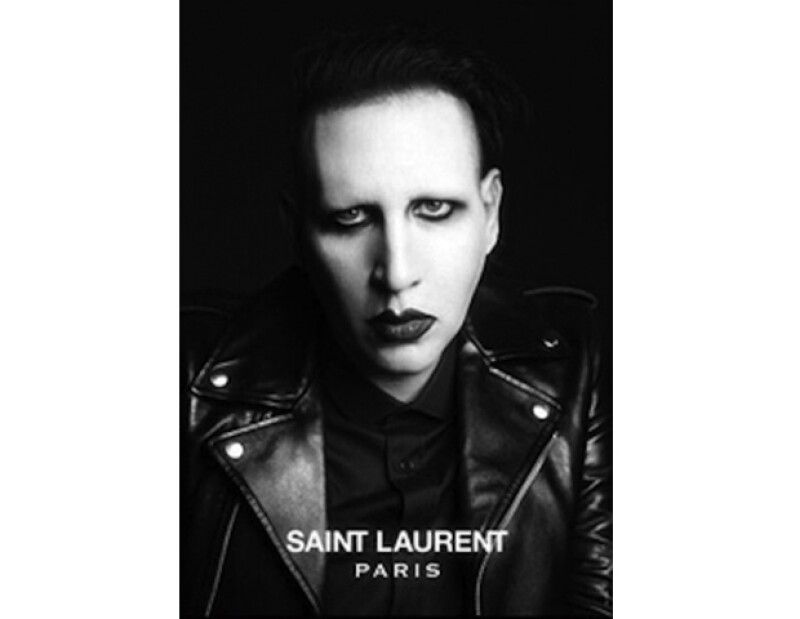 De Marilyn Manson a Benjamin Millepied, la marca Yves Saint Laurent se aparta de los estereotipos de belleza al momento de elegir los rostros que la representan.