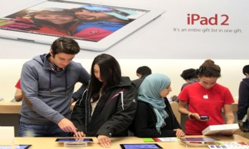 Hasta el 24 de septiembre, Apple había vendido 25 millones de iPads en el 2011. (Foto: AP)