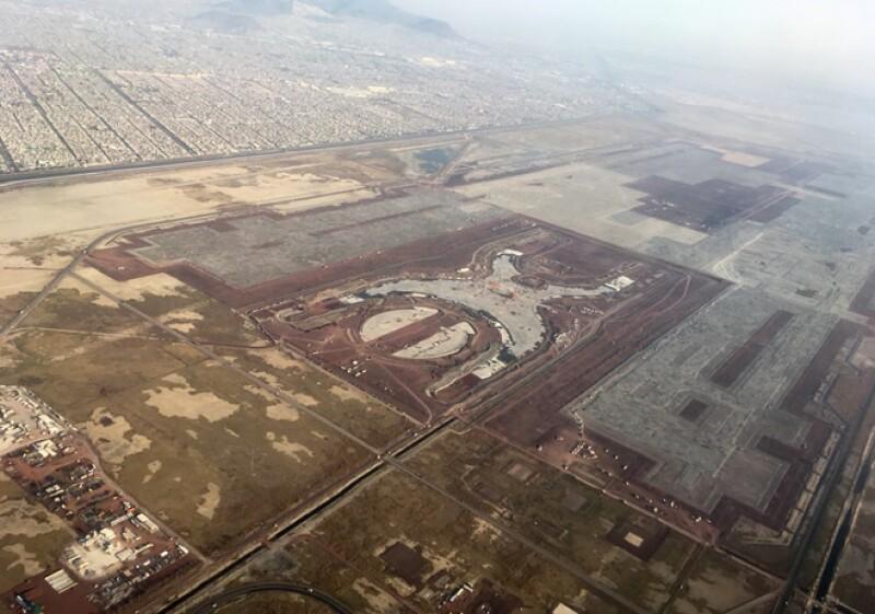 nuevo aeropuerto vista