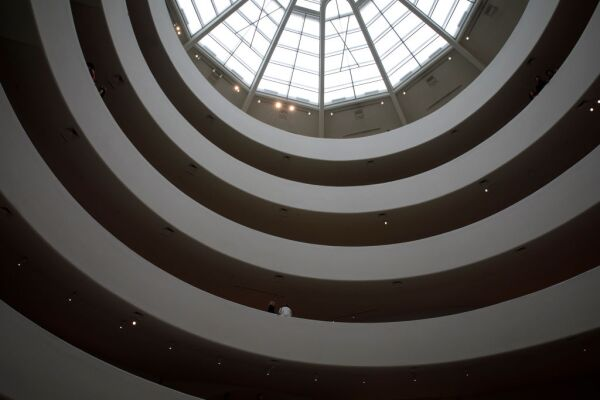 Press Preview Held For New Giacometti Exhibit At The Guggenheim