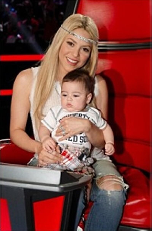 "Shakira y Milan se despidieron de ""The Voice"" este fin de semana."