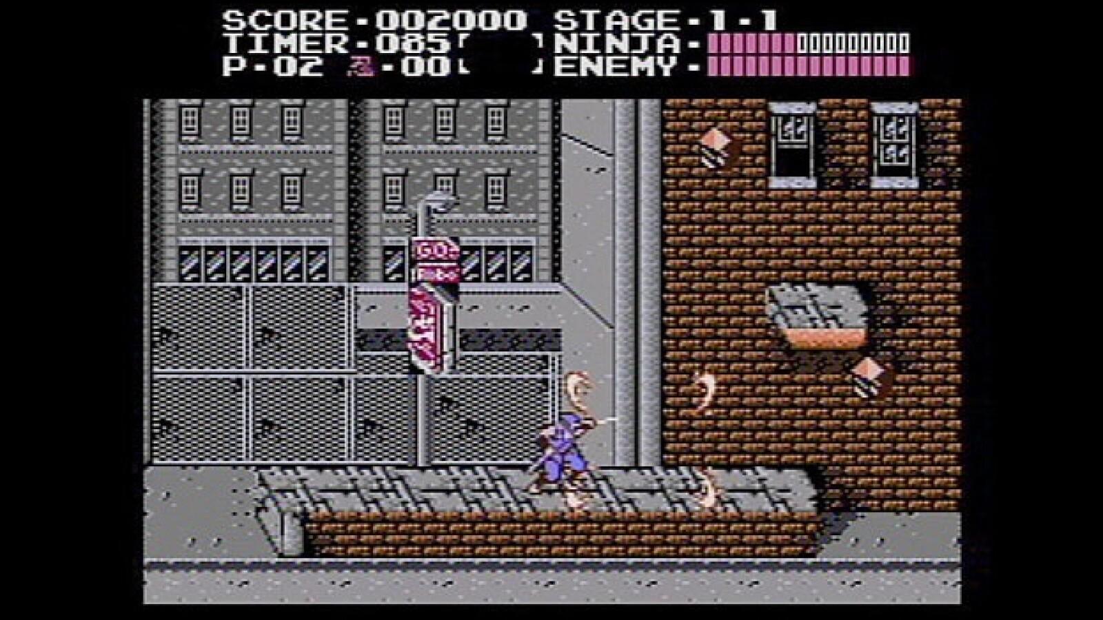 Ninja Gaiden Nintendo videojuego