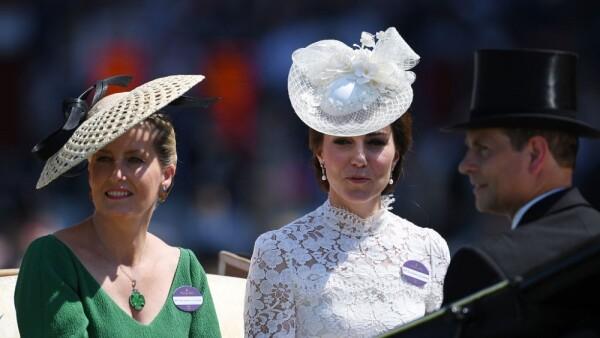 Sophie Wessex y Kate Middleton
