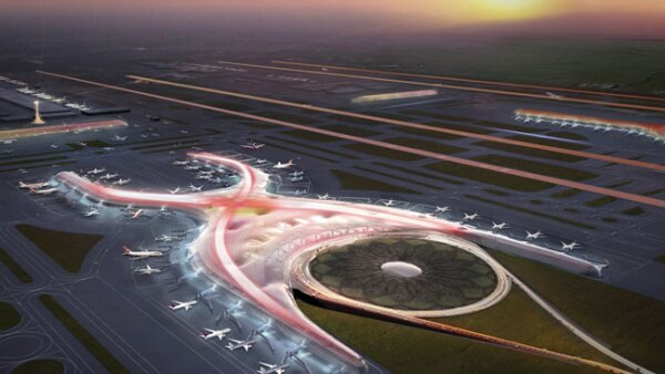 Tendr� seis pistas y ser�a capaz de movilizar hasta 120 millones de pasajeros al a�o