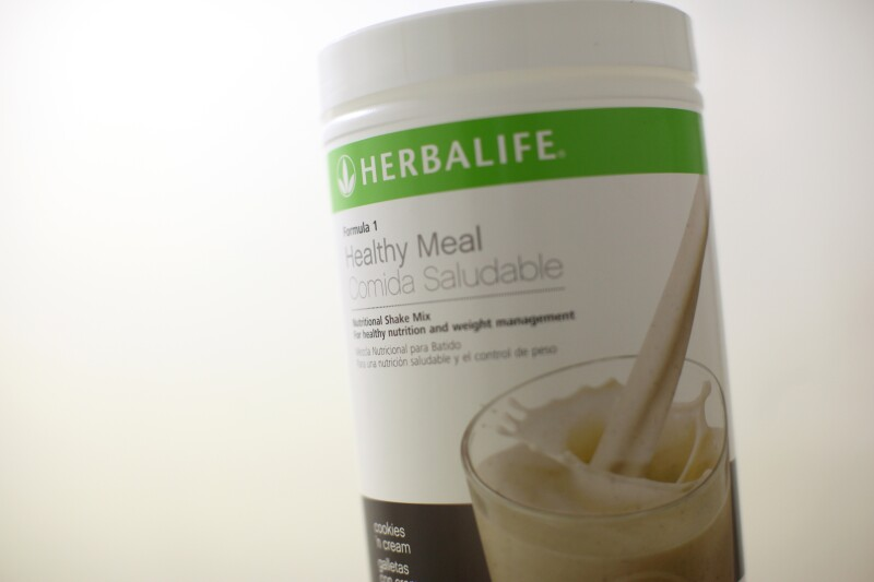 A Herbalife product is seen at a clinic in the Mission District in San Francisco
