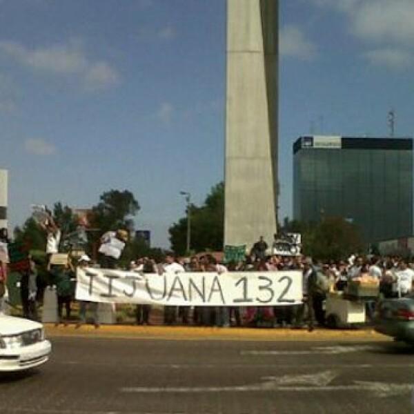 marcha 132 en tijuana