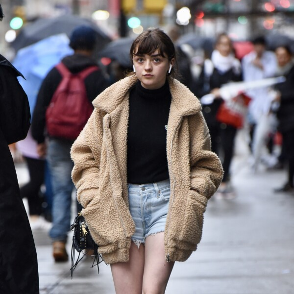 Maisie Williams out and about, New York, USA - 10 Sep 2018