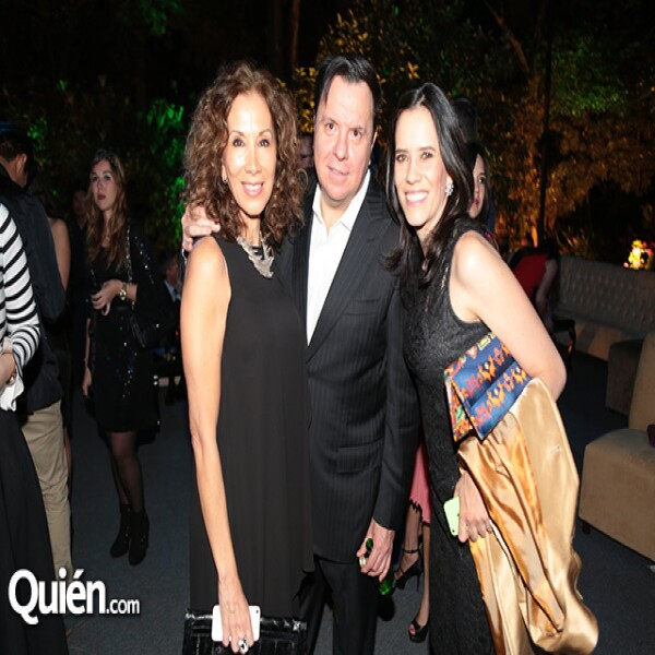 Beatriz Calles,Felipe Salcedo,Tania Colin