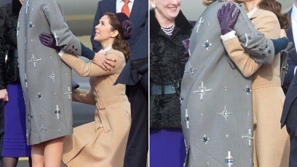 Durante la visita de estado que los reyes de Holanda hacen a Dinamarca, las protagonistas han sido la reina Máxima, la princesa heredera Mary y por supuesto, sus outfits.