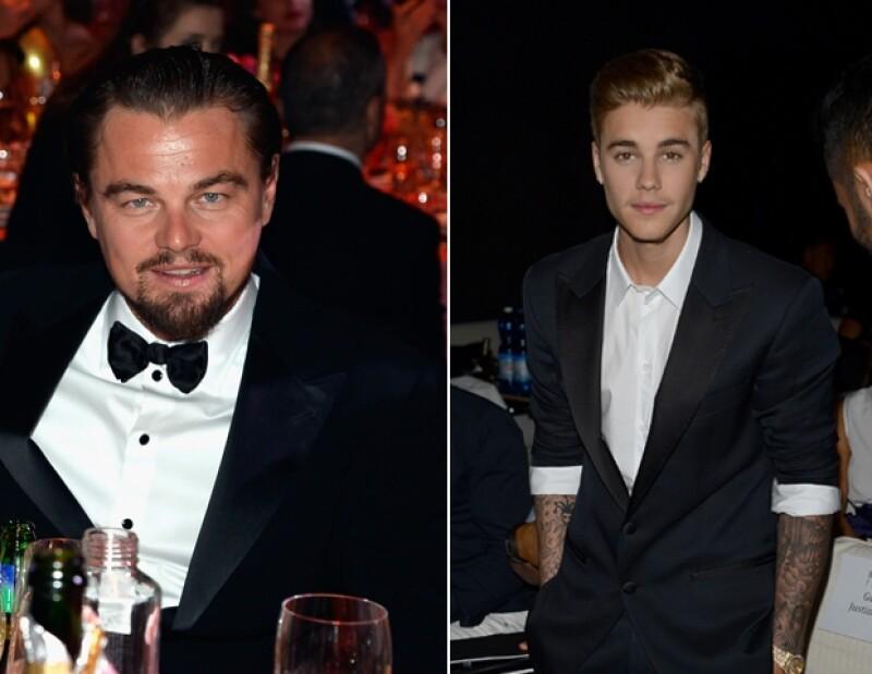 """Aunque ambas estrellas coincidieron en Francia, tal parece que al nominado al Oscar no le interesó conocer al joven cantante, a quien tachó de """"pequeño tonto""""."""