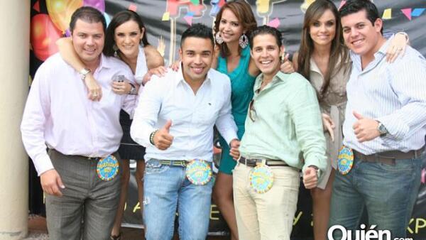 Comida de Rodrigo Gallardo, Mario Romo, Jesús Tavera, José Arámbula
