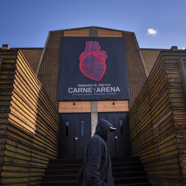 Carne Y Arena:  An Immersive Experience Created by Filmmaker Alejandro G. Inarritu (~ over n, ' over a)