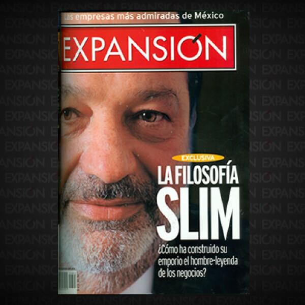 La revista publica una radiografía sobre Carlos Slim Helú: su origen, su historia, su forma de hacer negocios y su filosofía para liderar empresas. El objetivo: explicar cómo había creado un imperio inigualable en México.