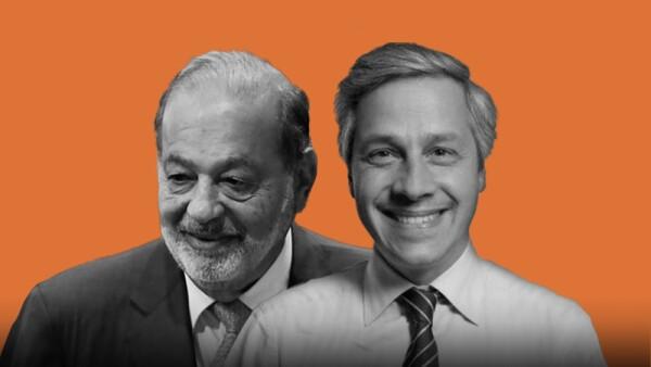 Carlos Slim y Claudio X. González