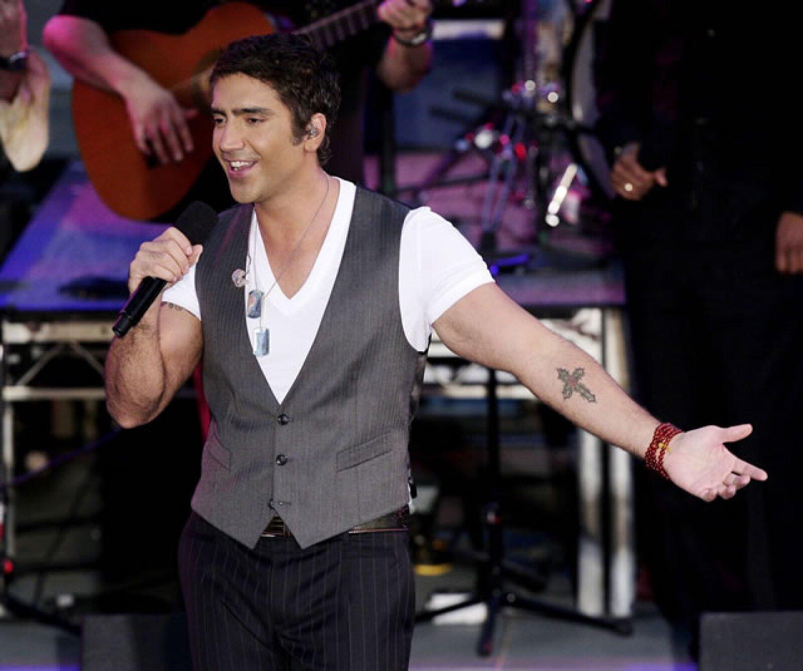 En 2007 durante los premios MTV en Plaza California.