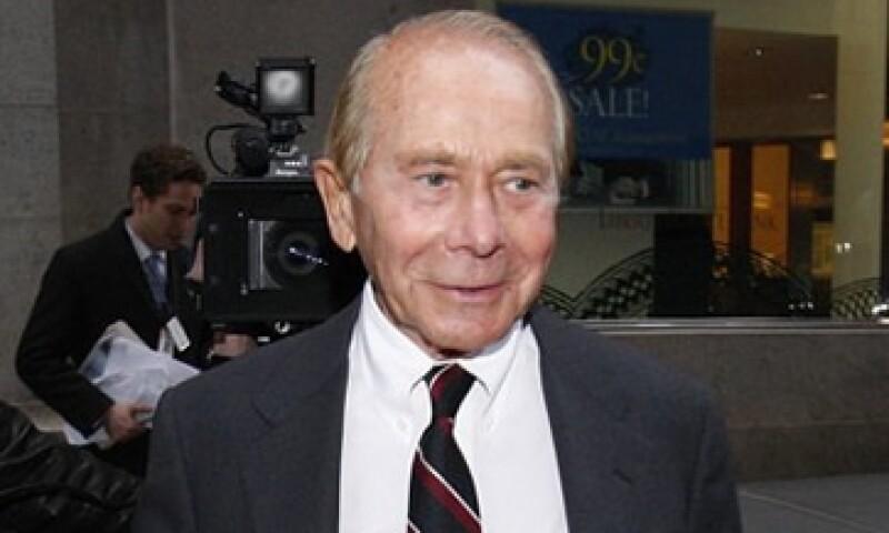 Maurice Greenberg denunció al Departamento del Tesoro y a la Fed de NY a nombre de AIG y otras compañías. (Foto: Reuters)