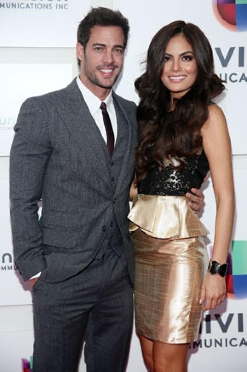 William Levy y Ximena Navarrete comparten créditos actualmente en la telenovela La Tempestad.