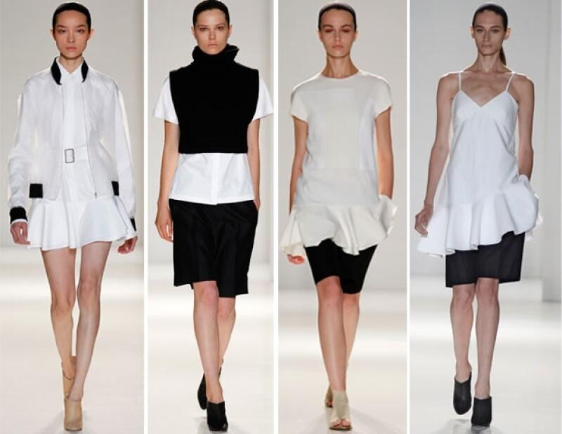 Blanco y negro, clásicos en las colecciones de Victoria.