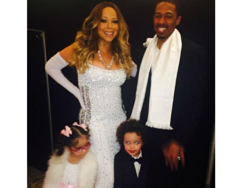 Mariah Carey no ha dudado en compartir muchos de sus momentos familiares desde la Navidad pasada.