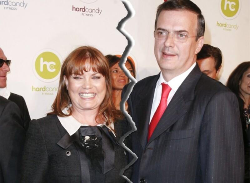Marcelo y Mariagna se casaron poco después de que él fue electo Jefe de Gobierno del Distrito Federal..