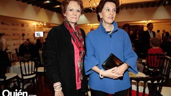 Mercedes Aspe y María Rincón Gallardo