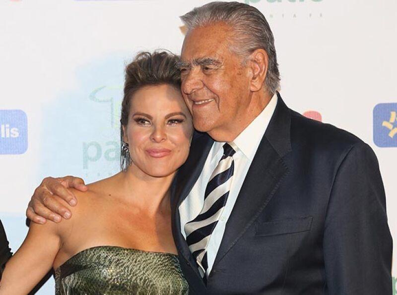 Aunque prefirió no profundizar en el tema, Eric del Castillo dejó en claro que la actriz está tranquila y cuenta con el apoyo de toda su familia.