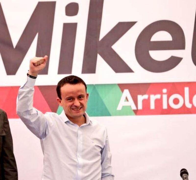 Registro de Mikel Arriola