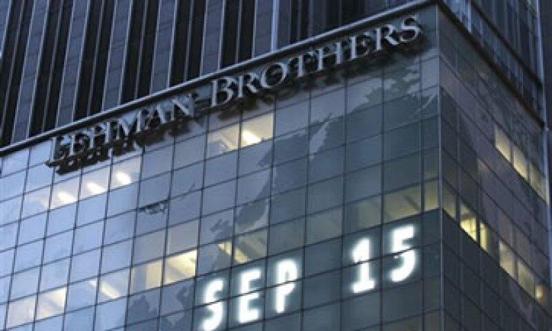 Lehman Brothers presentó una solicitud de bancarrota el 15 de septiembre de 2008. (Foto: AP)