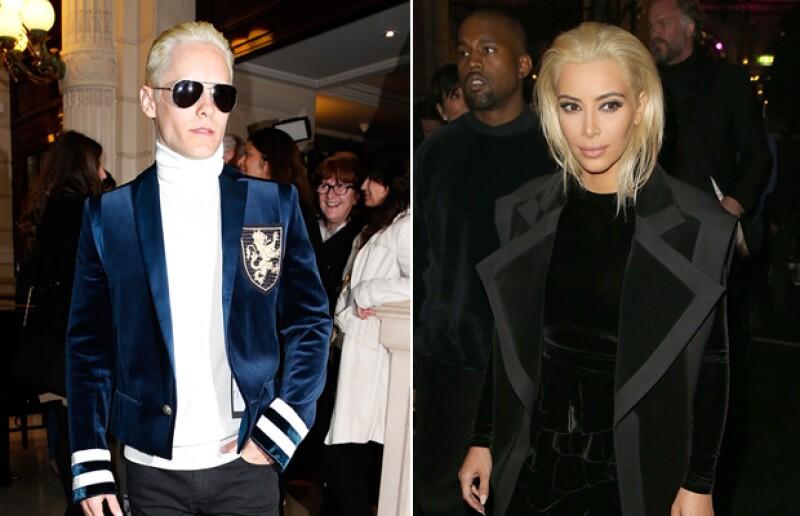 Las dos estrellas llegaron al mismo evento en París luciendo un sorprendente cambio de look. ¿A quién se le ve mejor?