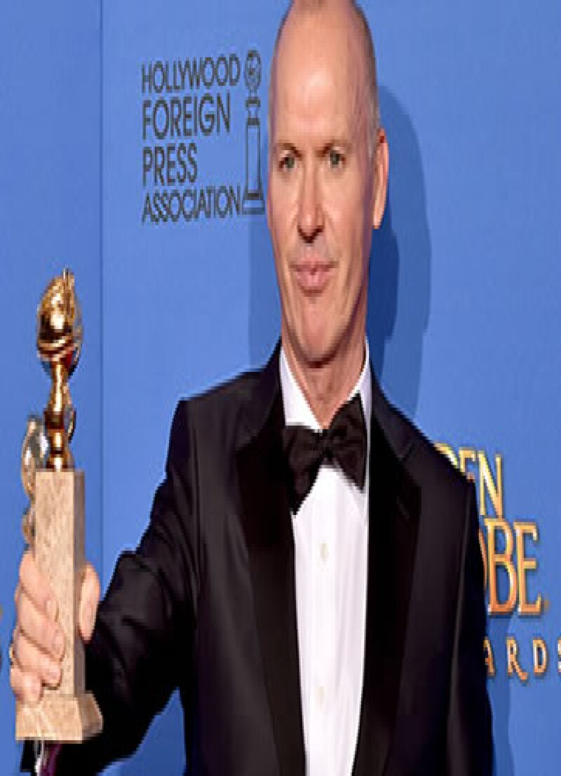 El actor no pudo contener el llando cuando ganó el premio a Mejor Actor en los Golden Globes.