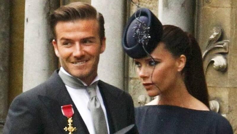 David y Victoria están casados desde julio de 1999.