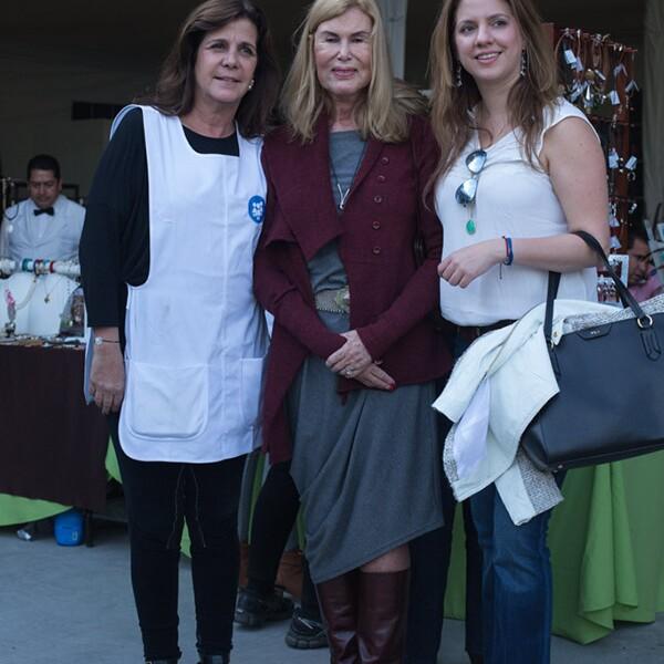 Isabel de Haro, Graciela Senderos y Patricia Herrera